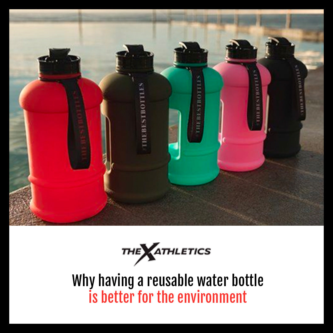 Why having a reusable water bottle is better for the environment