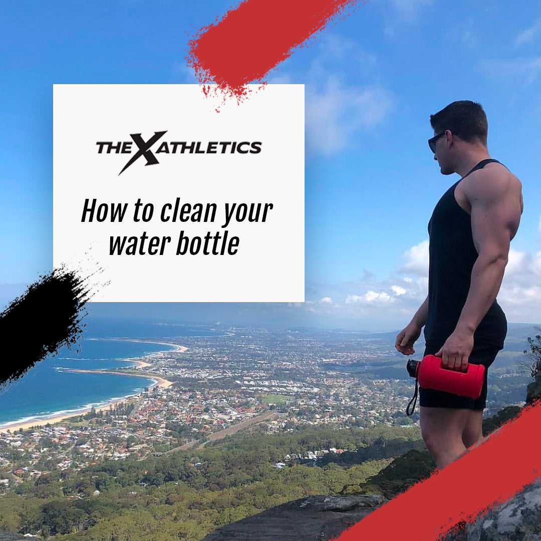 How to clean your water bottle