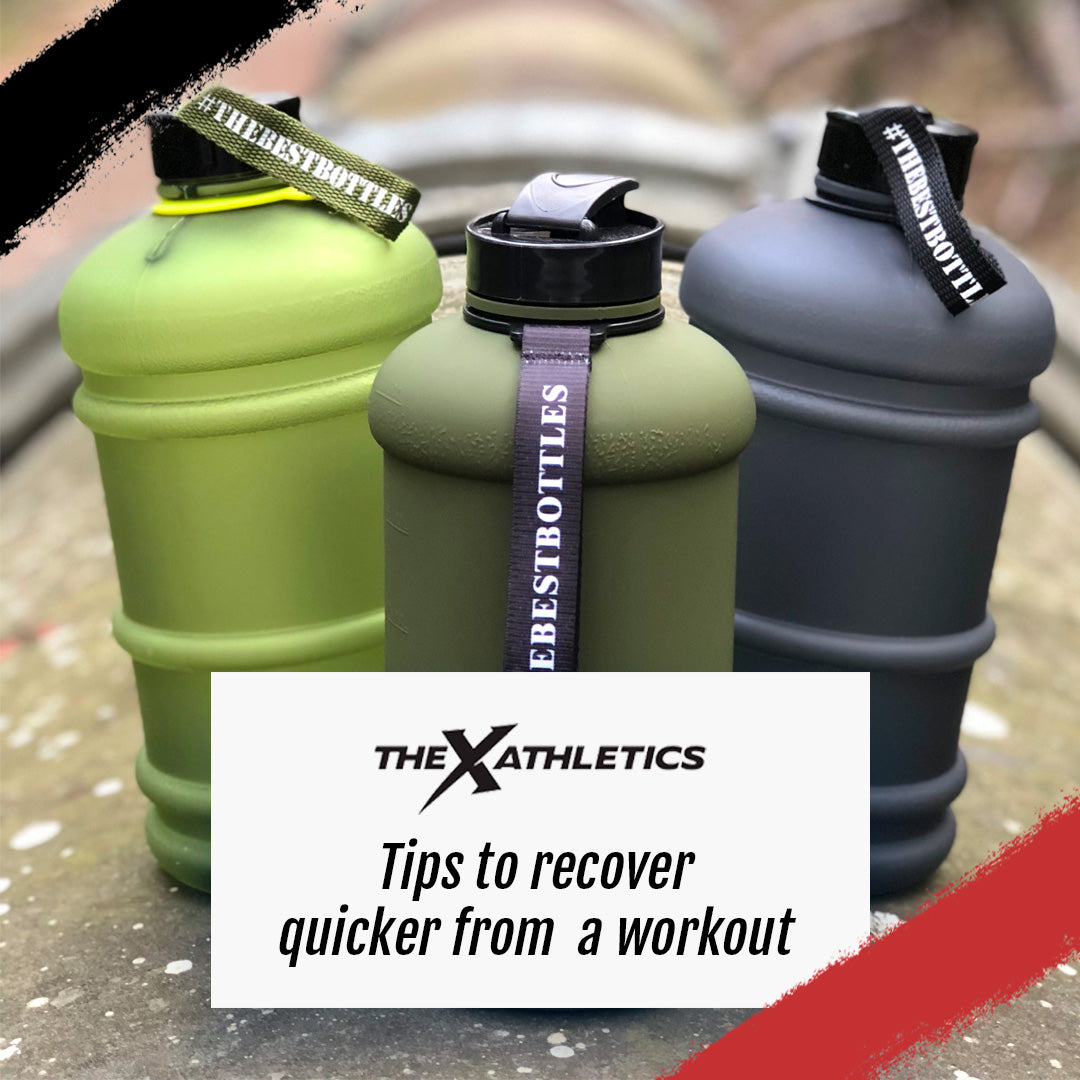 Tips to recover quicker from a workout