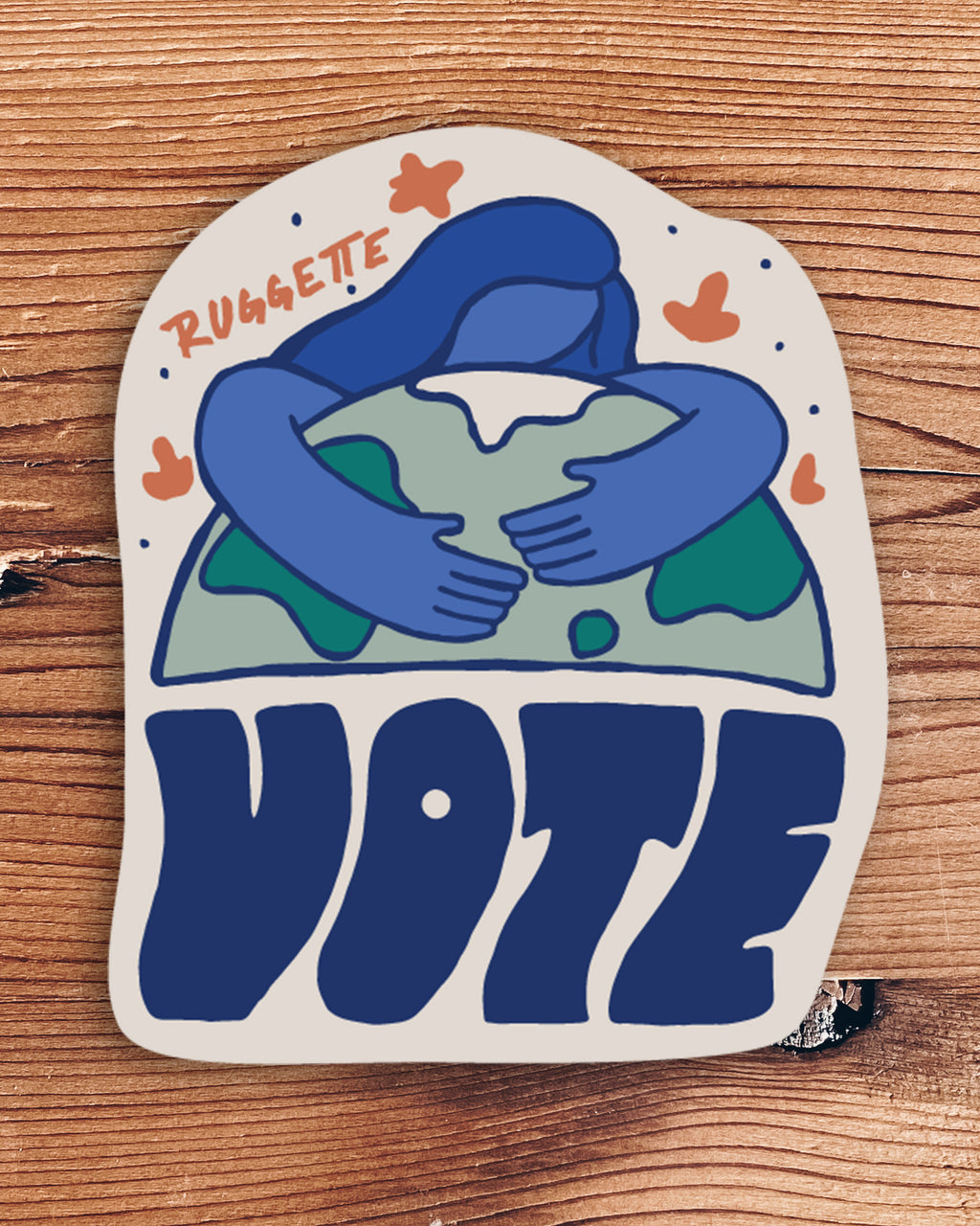 VOTE Stickers by Kika (all profits donated)