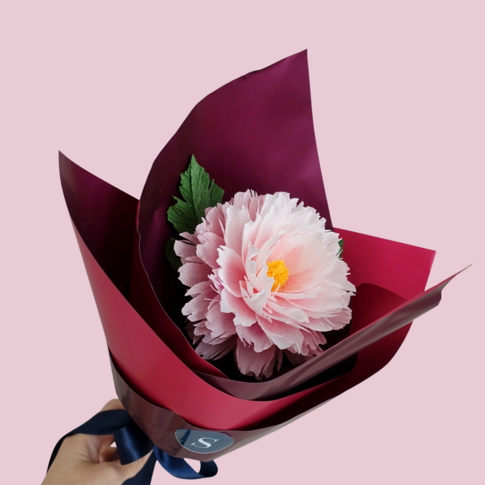 Tête-à-tête paper flower | Limited Edition