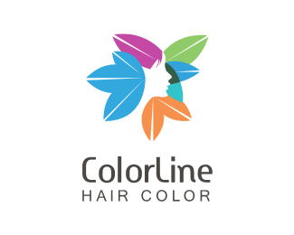 colorful women hair logo treatment logo maker idea logo maker app files free logo customization