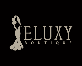 black background women fashion boutique logo maker app files free logo customization