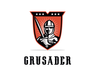104702 color version of crusader logo maker idea logo design concept for security free logo customization download logo maker app files