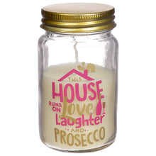 Prosecco Slogan Candle Jar - Summer Fragranced