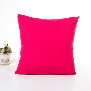 Polyester Pillow Sofa Waist Throw Cushion Cover Home Decor Cushion Cover Case