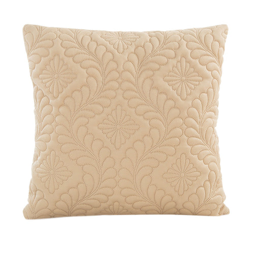 Plush Quilted Cushion Cover (9 Colours)