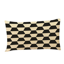 Black and Gold Rectangular Cushion Covers (6 Designs)