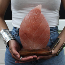 Leaf Shape Himalayan Salt Lamp