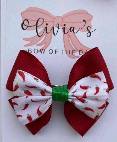 Red Hot Chili bow
