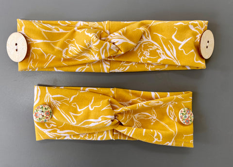 Ear Savers Headband (yellow)