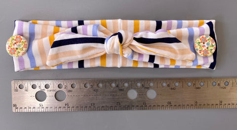 Ear Savers Headband (striped)