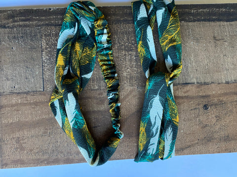 Emerald vacation headband