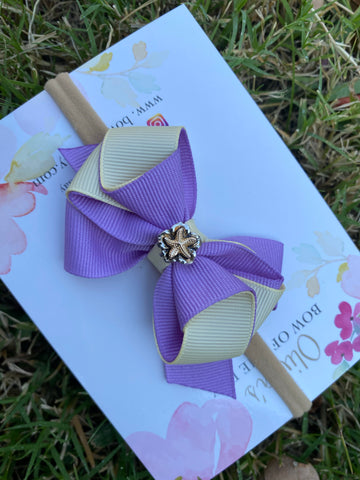 Elegance headband- purple