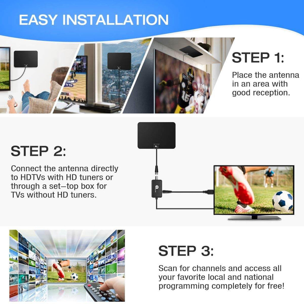 indoor tv aerial | best tv antenna for my area