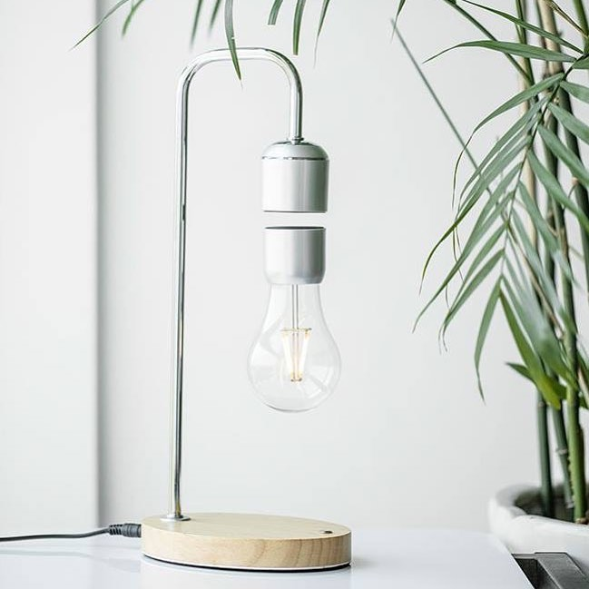 Levitating Floating Bulb Desk Lamp