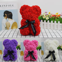 Load image into Gallery viewer, Valentines Romantic Gift box PE Rose Bear Artificial Rose Decorations Cute Cartoon girlfriend Kid Gift