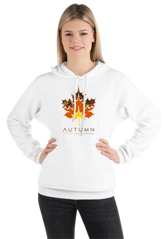 Autumn Leaves - Printed Hoodie for Women