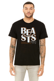 Beasts Don´t Rest - Printed T-Shirt for Men