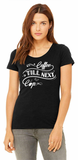 Coffee Till Next Cup - Printed T-Shirt For Women