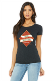Difficult Roads - Printed Triblend T-Shirt for Women