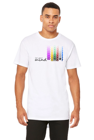 Let your mind wander - Printed T-Shirt for men