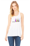 Let your mind wander - Printed Racerback Tank Top for Women