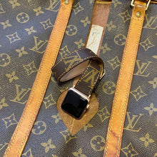 Load image into Gallery viewer, Handmade Louis Vuitton Authentic Apple watch band Series 6-5-4-3-2-1