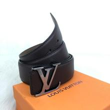 Louis Vuitton İnitiales Taiga Leather Belt