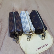 Load image into Gallery viewer, Key Pouch, Key Ring, handbag, coin wallet, coin purse, wallet, gift christmas, louis vuitton bag, lv