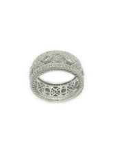 Load image into Gallery viewer, Silver & CZ Everyday Ring