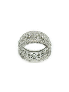 Silver & CZ Everyday Ring