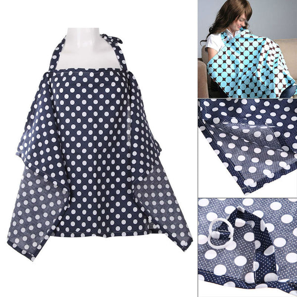 1 pcs Breastfeeding Cover Baby Mum Cotton  Nursing Poncho Cover Up Blanket Shawl Breast feeding Cover