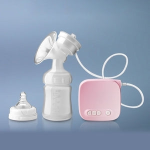 Automatic Milk Pumps Kit Electric Breast Pump Natural Suction Enlarger Feeding Bottle USB Breast Milksucker BM