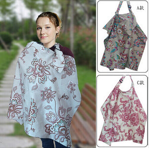 Rigid Neckline Cotton Breastfeeding Cover Nursing Covers,Nursing shawl breast feeding covers,Breastfeeding blanket nursing apron