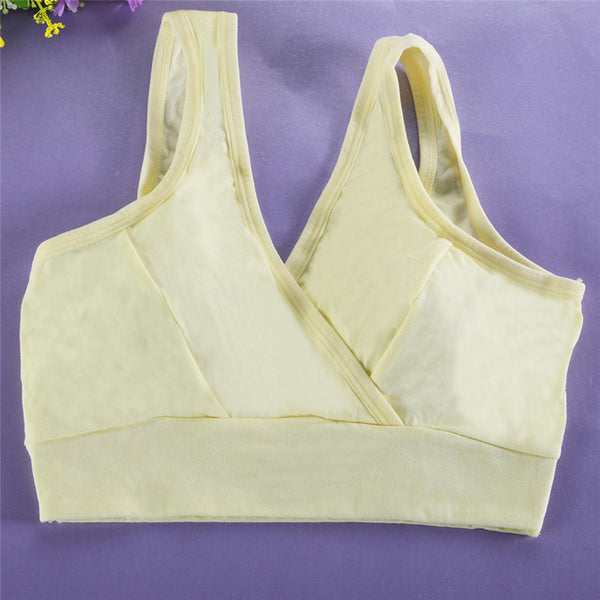 Breast Feeding Maternity Nursing Bra Breast feeding Bras For Nursing Mothers Clothing For Pregnant Women Cross lingerie brassier