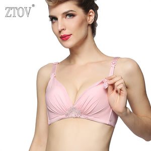 ZTOV New 2017 Breastfeeding bra Maternity Nursing bra Lace Pregnancy Underwear Clothing for Pregnant women Breast Feeding bra