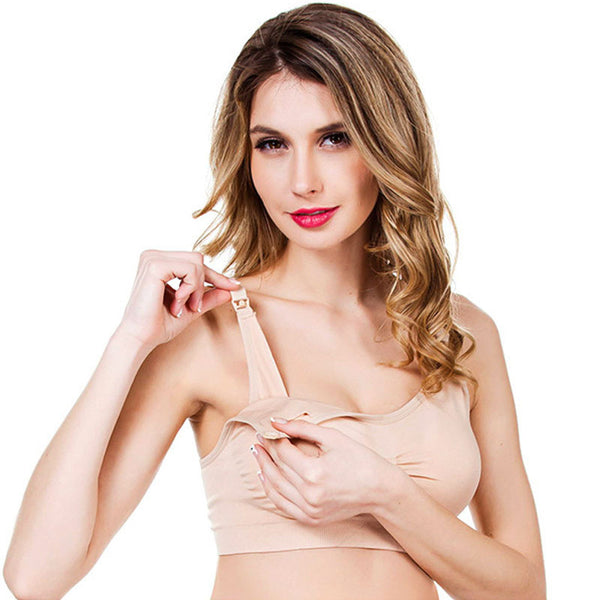Pregnant Breast Feeding BRA Maternity Nursing Bra Seamless Underwear Wireless Belt Feeding For Pregnant Woman YYT260