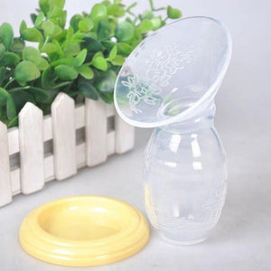 Mom Breast Feeding One-handed Manual Breast Pump Baby Milk Feeding Saver Bottle Silicone Artifact Nipple Suction Container
