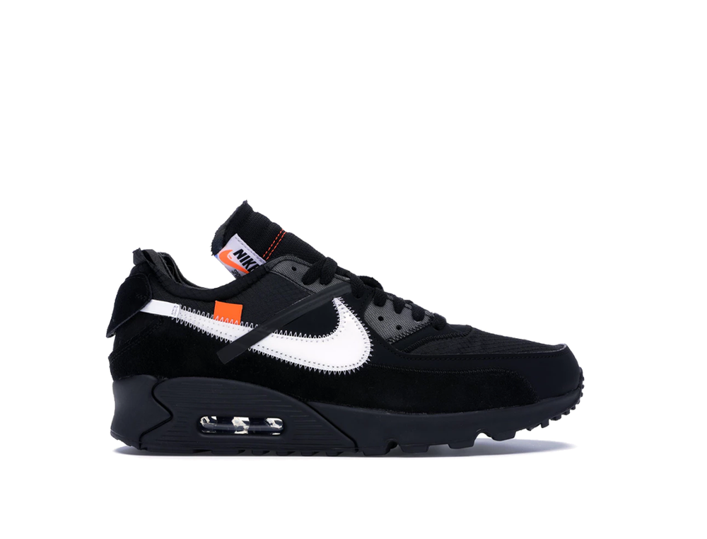 NIKE x OFF-WHITE AIR MAX 90 BLACK