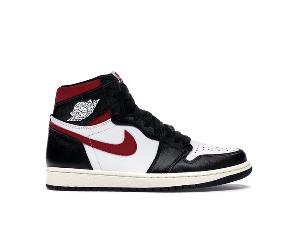 NIKE AIR JORDAN 1 HIGH BLACK GYM RED