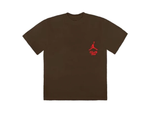 NIKE X TRAVIS SCOTT TEE GITD BROWN