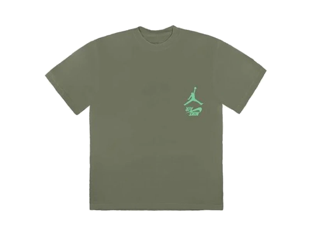 NIKE X TRAVIS SCOTT TEE GITD GREEN