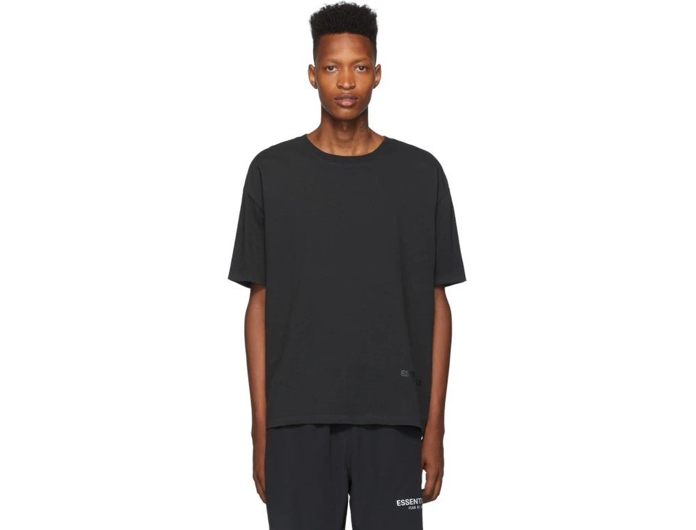 FOG ESSENTIAL REFLECTIVE TEE BLACK