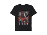 MICHAEL JORDAN  x TRAVIS SCOTT TEE BLACK