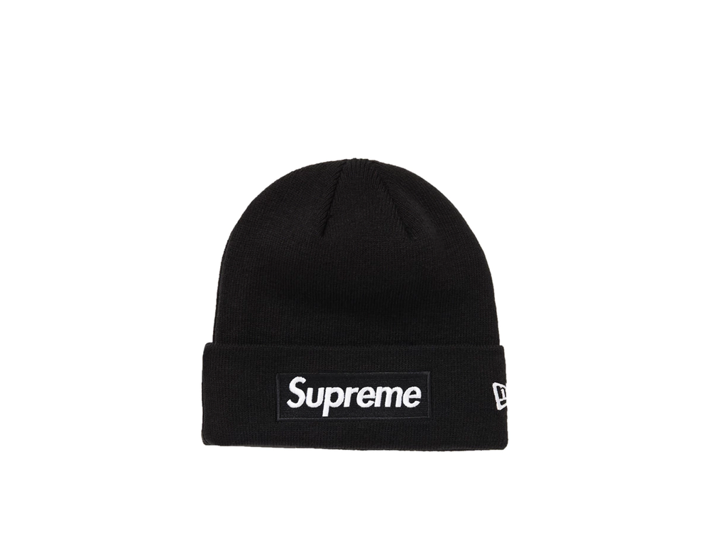 SUPREME NEW ERA BOX LOGO BEANIE (FW18) BLACK
