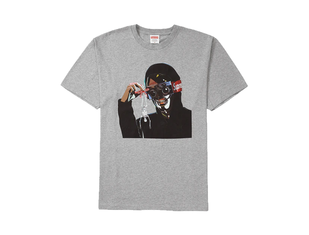 SUPREME CREEPER TEE GREY