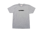 SUPREME MOTION LOGO TEE HEATHER GREY