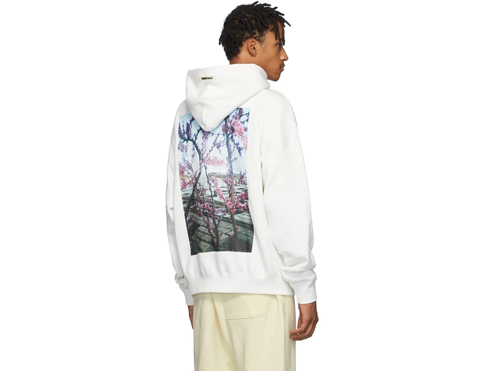 FOG ESSENTIALS SHANIQWA JARVIS PHOTO SERIES HOODIE WHITE