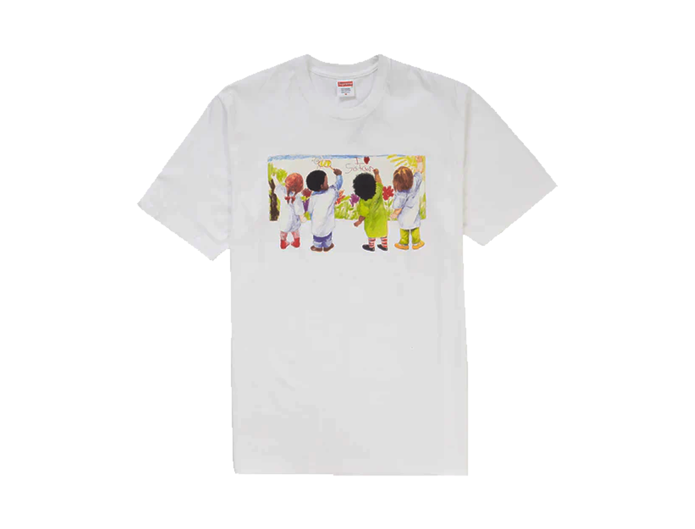SUPREME KIDS TEE WHITE